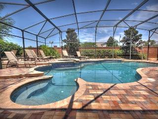 A luxury 7 bedroom vacation home in Formosa Gardens Estates Orlando, featuring games room, cinema room, gymnasium, private pool and hot tub - Four Corners vacation rentals