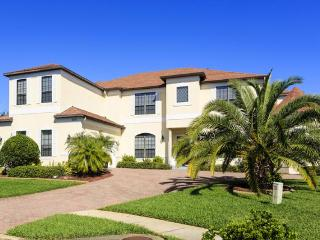 Elegant and luxurious villa with 7 suite bedrooms, games room, gym, cinem, 45 foot swimming pool/spa - Central Florida vacation rentals
