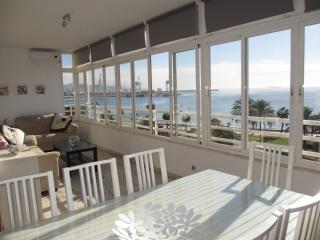 Beachfront Malaga-Pacifico,12 people,WIFI,parking - Malaga vacation rentals