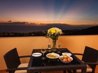 JAW DROPPING VIEWS, HUGE BALCONY & WI-FI INTERNET! - Costa Adeje vacation rentals