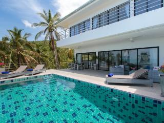 3 bedroom deluxe sea view villa with fitness room - Chaweng vacation rentals