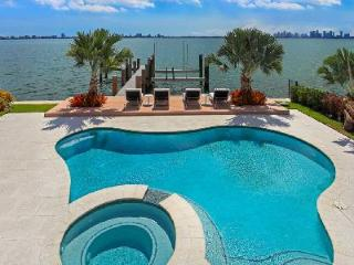 North Bay Treasure - luxury bayfront contemporary villa with pool & views - North Bay Village vacation rentals