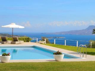 Luxurious Sea View Villa Island Vista with Pool, Tennis Court & Helipad - Chania vacation rentals