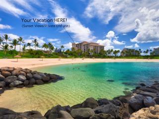 BEACH TOWER @ Beach Villas! Sunset & Ocean views - Kapolei vacation rentals
