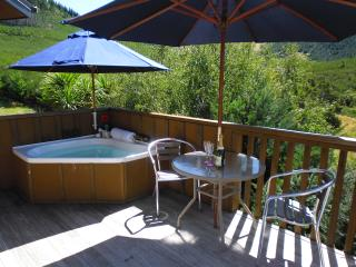 Romantic Chalet with Deck and Internet Access - Hanmer Springs vacation rentals