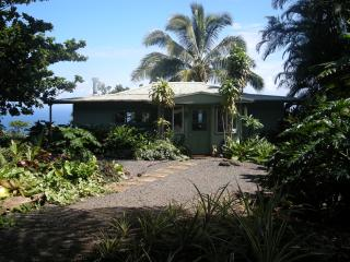 Tropical Paradise Ocean View Cottage Solar Powered - Hana vacation rentals