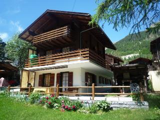 Romantic 1 bedroom Apartment in Evolene - Evolene vacation rentals