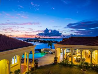St. Martin Luxury Estate with Private Pool and Breathtaking Views of Ocean - Bellevue  vacation rentals
