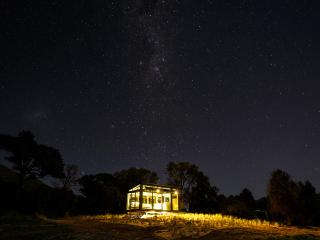 Little River PurePod - luxurious glass eco-cabin in stunning & remote location - Little River vacation rentals