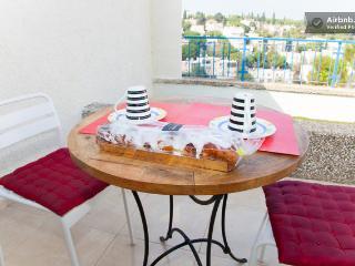 Haifa Central Ahuza New luxurious 3 room best flat - Haifa vacation rentals