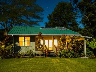 Romantic Honeymoon Cottage 8 acres Wi-fi solar - Pahala vacation rentals