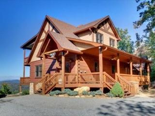 Spacious Cabin with Deck and Television - Mineral Bluff vacation rentals