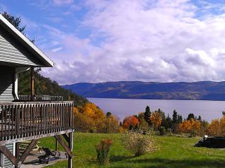 Splendid Panorama Fjord Saguenay! Mountain retreat - Sainte-Rose-du-Nord vacation rentals