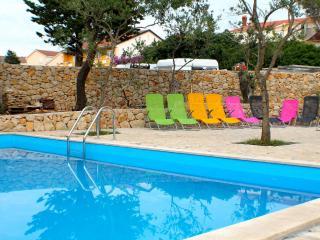 Modern 4 people apartment Zrce - Novalja vacation rentals