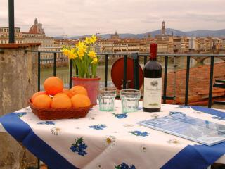 Florence centre, Terrace, WIFi (Soderini) - Florence vacation rentals