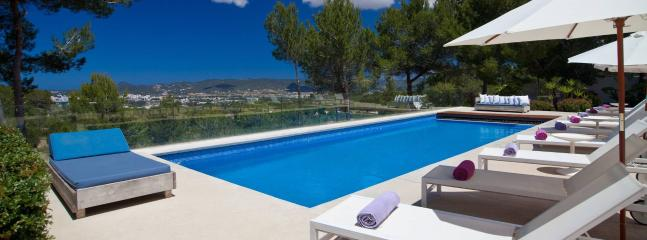 Exquisite luxury villa in Ibiza, 12p - Almerimar vacation rentals