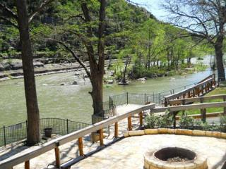 Tiki Lodge on River Road! Right along the Guadalupe River!! - New Braunfels vacation rentals