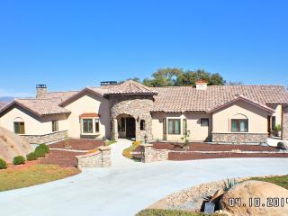Boulder View Estate near San Diego Beaches, Golf & Amusement Parks - Ramona vacation rentals