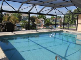 Canal Front Home with Heated Pool, Bikes, PingPong - Cape Coral vacation rentals