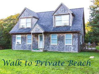 ABBOP - WALK TO PRIVATE BEACH, WIFI INTERNET, AC - West Tisbury vacation rentals