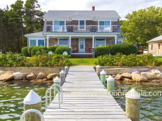 EWARO - Gorgeous Harborfront Home with Private Dock, Walk to Beach and Town, A/C, WiFi, Newly Furnished - Oak Bluffs vacation rentals