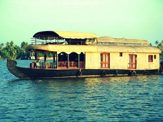 Comfortable Boathouse with Internet Access and Television - Kumbalam vacation rentals