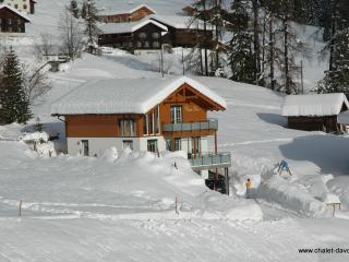 Luxury mountain chalet in Davos + Sauna, sleeps 6 - Davos vacation rentals