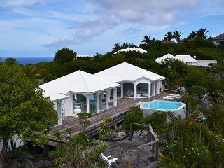 Very private and unique villa with wonderful views of Colombier WV BYZ - Petit Cul De Sac Beach vacation rentals