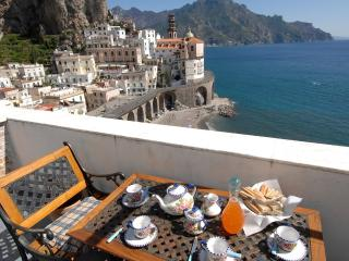 Chiara with terrace and sea view - Atrani vacation rentals