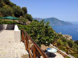Villa Nenno wIth terrace overlooking the sea - Conca dei Marini vacation rentals