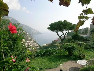 Villa Borgo Fiorito with terrace and sea view - Positano vacation rentals