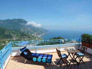 Falena with terrace overlooking the sea - Ravello vacation rentals