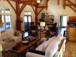 Rustic designer cabi - modern mountain details! - Blue Ridge Mountains vacation rentals