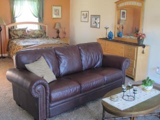 Peaceful country suite with private deck - Larkspur vacation rentals