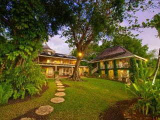 Nestled on eight acres of landscaped grounds this absolutely beautiful luxury villa has a main house constructed around a 17th c - Saint Peter vacation rentals