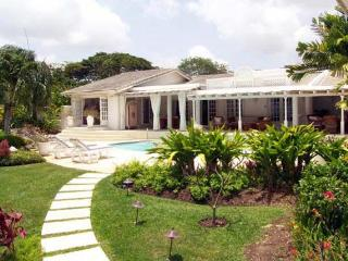 Large, opulent 4 bedroom home nestled in a beautiful tropical garden. Overlooks the golf course. - Sandy Lane vacation rentals