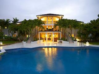 Magnificent 9 bedroom villa, overlooking the pool and gardens. Open plan living room with a bar - Lascelles Hill vacation rentals
