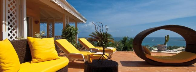 Villa Coccinelle SPECIAL OFFER: St. Martin Villa 122 A Superb, Newly Renovated Home With Breathtaking Views Of The Atlantic Ocean, Anguilla And St Barth. - World vacation rentals