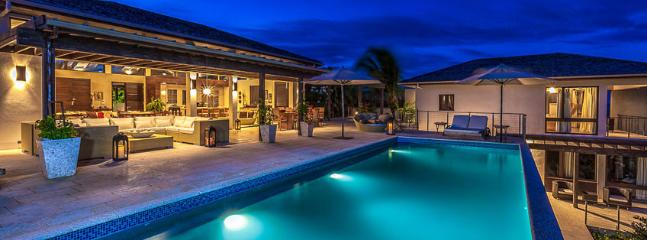 Villa Aquamarie AVAILABLE CHRISTMAS & NEW YEARS: Anguilla Villa 63 Sits On A Slight Landscaped Rise Overlooking The Caribbean Sea And The Mountains Of St. Maarten Beyond. - Little Harbour vacation rentals