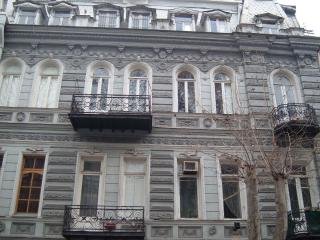 19th Century Studio with Balcony by Freedom Square - Tbilisi vacation rentals