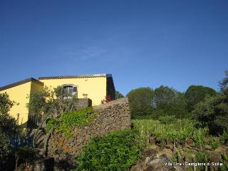 Romantic historic Villa with view of Etna & Pool - Castiglione di Sicilia vacation rentals