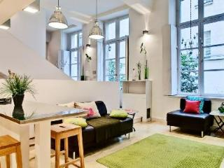 Spacious Loft Les Ecouffes with Courtyard View in Trendy Neighborhood - 11th Arrondissement Popincourt vacation rentals