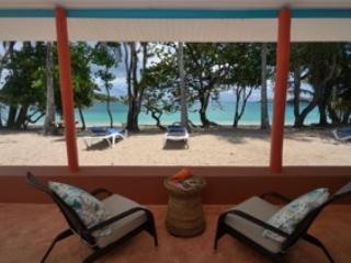 Beach Cottage Verandah - Sugarapple Inn Beach Cottage - Bequia - rentals
