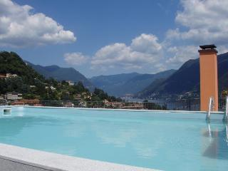 Superb penthouse with private pool lake views - Como vacation rentals