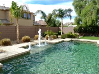 Exquisite 4500 sq feet Estate with heated Pool, Spa, Billiard, video-games, Home theater & resort backyard - Goodyear vacation rentals