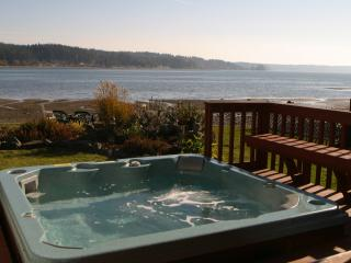 Allyn Beachfront Home - on Gorgeous Case Inlet - Hot Tub - Tahuya vacation rentals