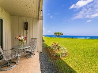 Pali Ke Kua 132: Affordable 1br/1ba with great view, easy beach access - Princeville vacation rentals