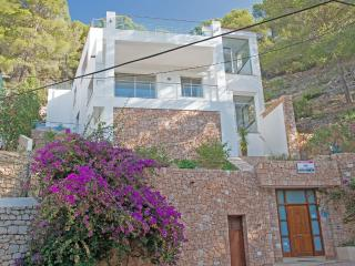 Amazing minimalistic 3 Bedroom Villa with Roof top Swimming pool, Elevator,Stunning views - Cala Llonga vacation rentals