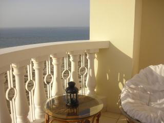 Sea facing tastefully decorated studio apartment - United Arab Emirates vacation rentals