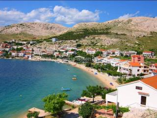 Apartment 2+2 first row to sea - Metajna vacation rentals